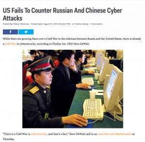 China Russia Attacks