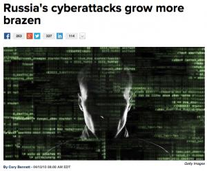 Russia attacks more brazen