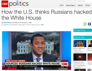 Russian Hacked White House